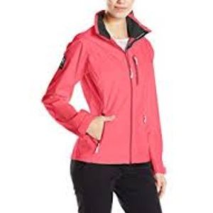 HELLY HANSEN Coral Pink Windbreaker Rain Jacket